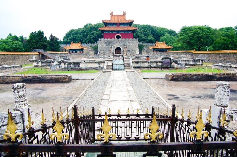 Welterbe Ming Xian Tomb stockfotos