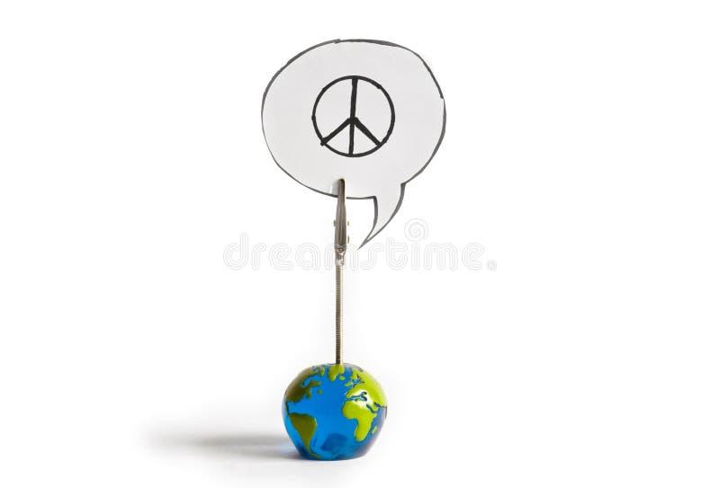 Weltfrieden stockfotografie