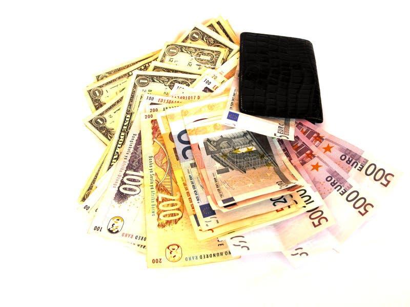 Weltgeld lizenzfreie stockbilder