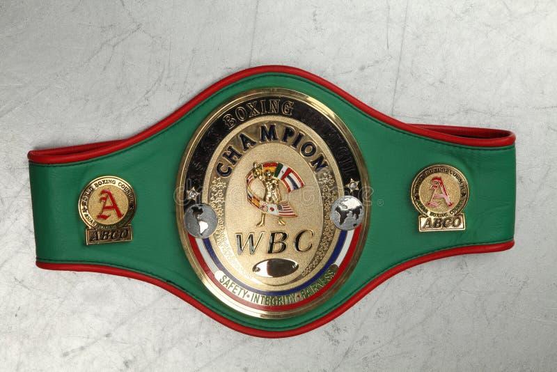 Weltgurt-Verpackenmeister WBC lizenzfreie stockfotos