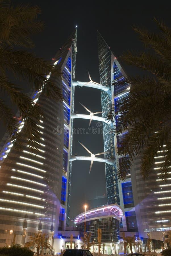 Welthandels-Mitte, Bahrain lizenzfreie stockbilder