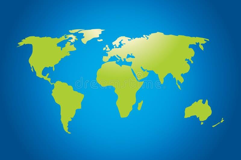 Weltkarte stockfoto