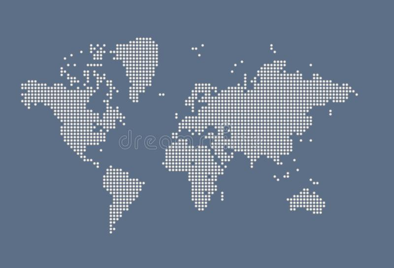 Weltkarte lizenzfreie stockbilder