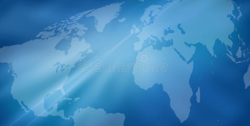 Weltkartenhintergrund lizenzfreie abbildung