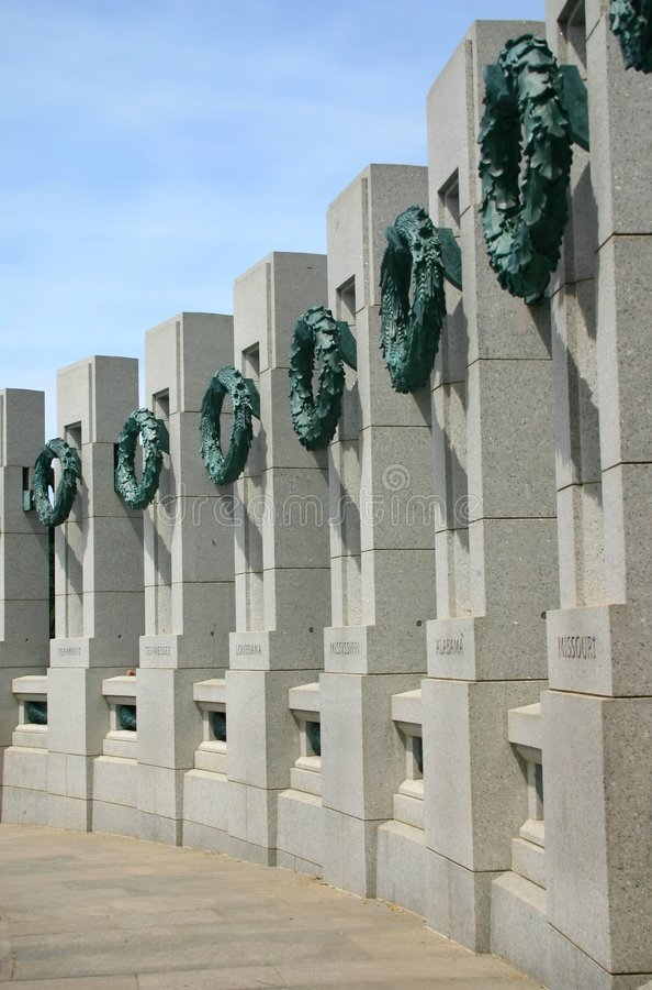 Weltkrieg-Denkmal lizenzfreie stockbilder