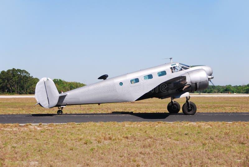 Weltkrieg Flugzeug mit 2 Ären lizenzfreie stockfotos