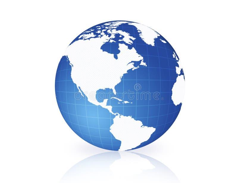Weltkugel   stock abbildung