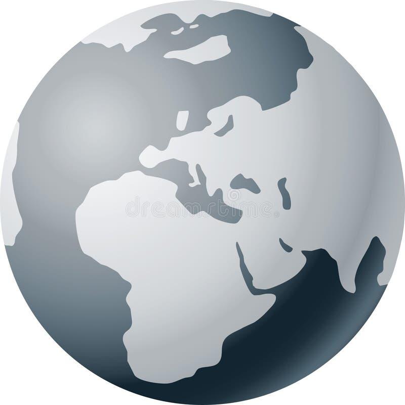 Weltkugel vektor abbildung