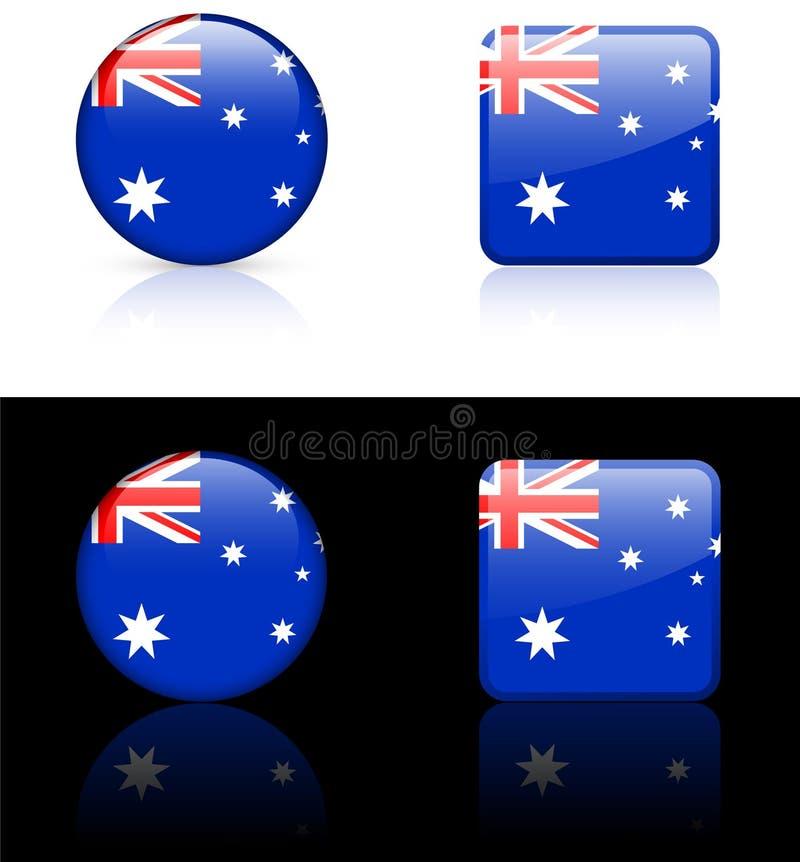 Weltmarkierungsfahnen: Australien vektor abbildung
