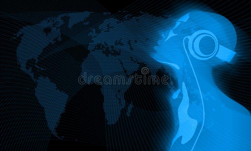 Weltmusik vektor abbildung