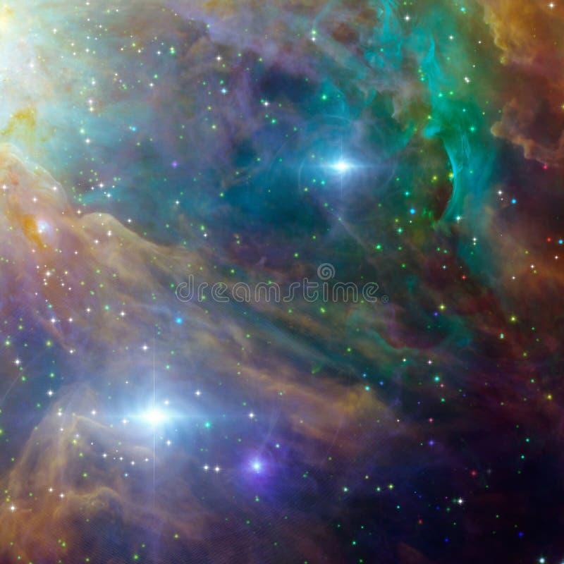Weltraum stock abbildung