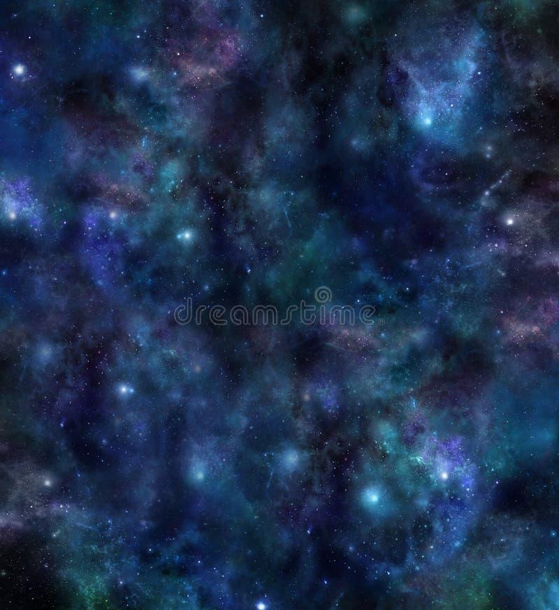 Weltraum-Universum-Hintergrund lizenzfreie abbildung