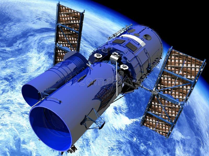 Weltraumteleskop stock abbildung