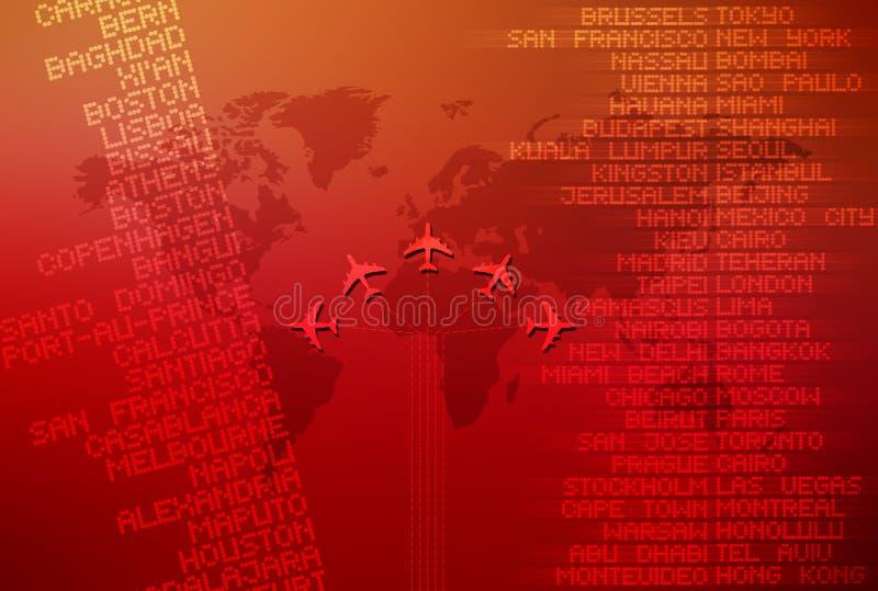 Weltreise 01 lizenzfreie abbildung