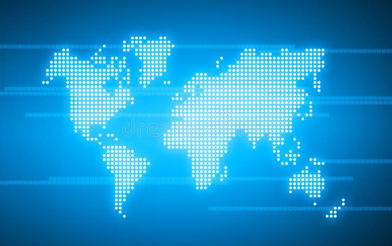 Welttechnologie stock abbildung