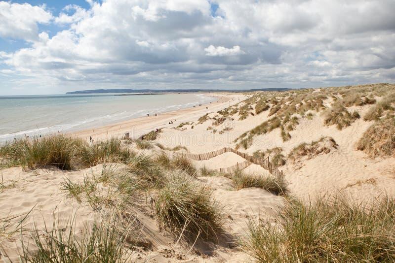Welvingszand, Welving: duinen en het strand royalty-vrije stock afbeeldingen