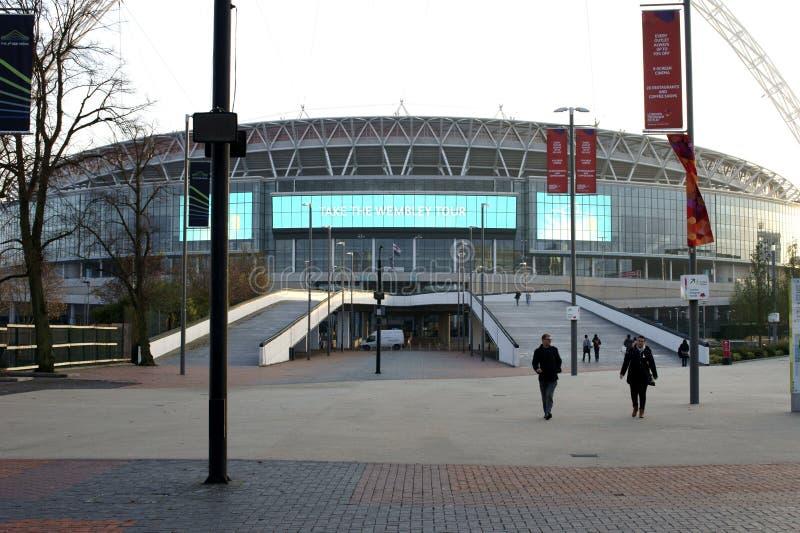 wembley спички london королевства футбола соединенное стадионом стоковая фотография