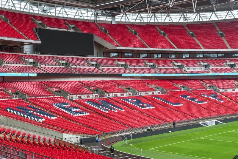 wembley спички london королевства футбола соединенное стадионом стоковые изображения