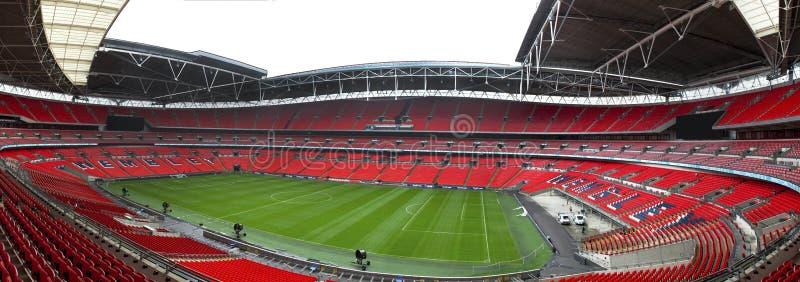 Wembley panorama royalty free stock images
