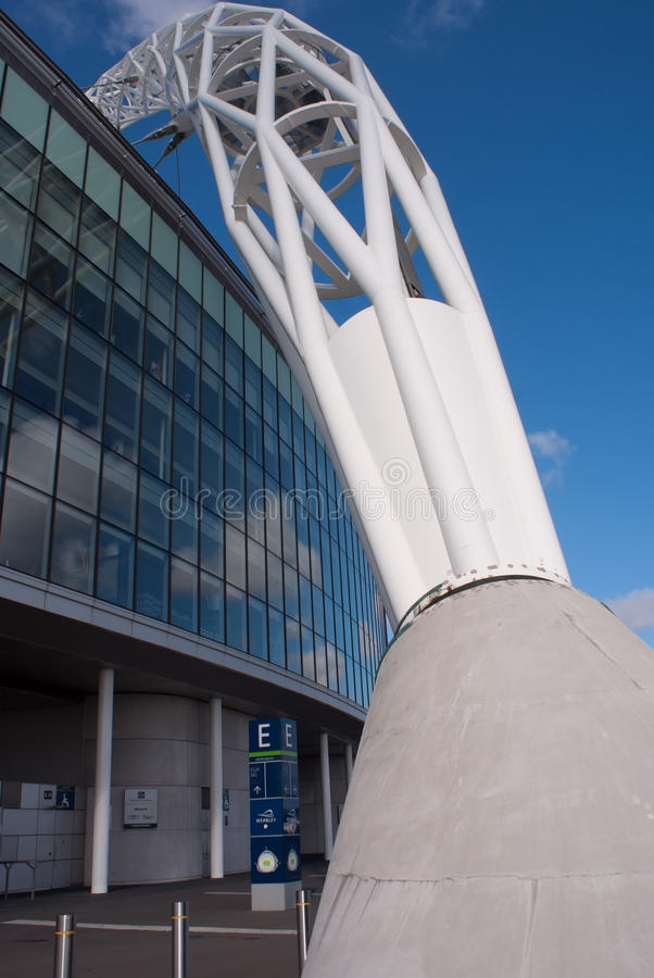 Download Wembley Stadium At A Sunny Day Editorial Image - Image of entrance, england: 20079825