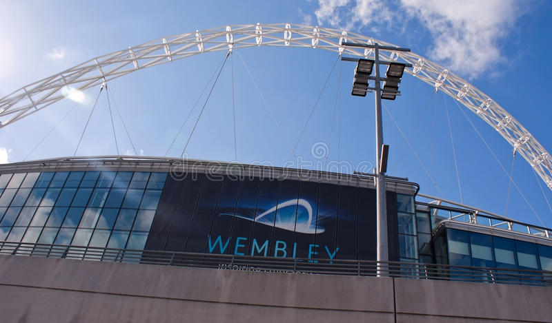 Download Wembley Stadium At A Sunny Day Editorial Image - Image: 20079950