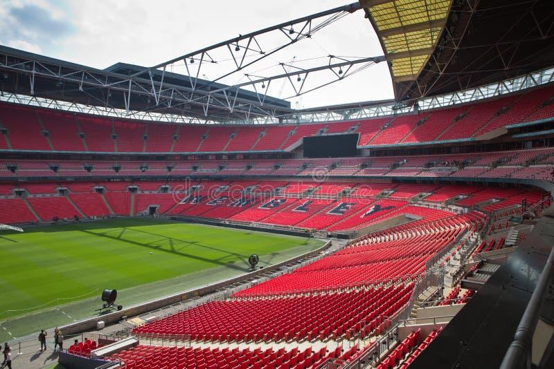 Wembly stadium Londyn Zjednoczone Kr?lestwo zdjęcia stock