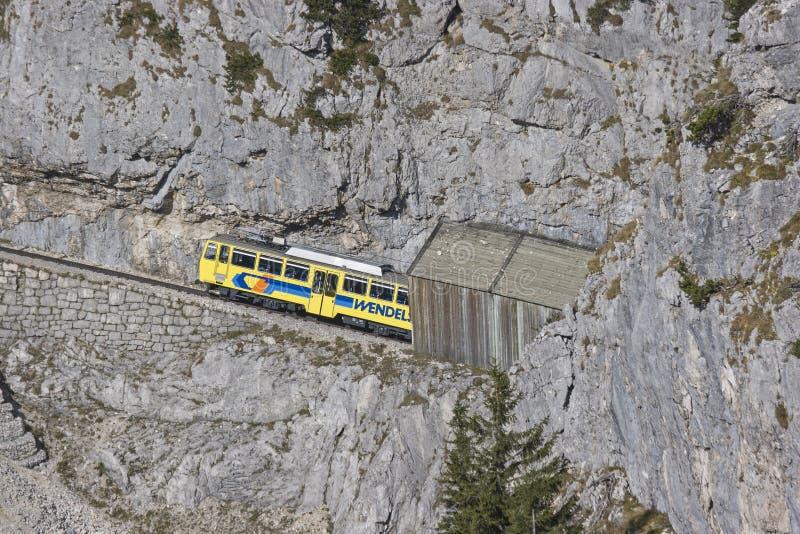 Wendelstein railway royalty free stock photos