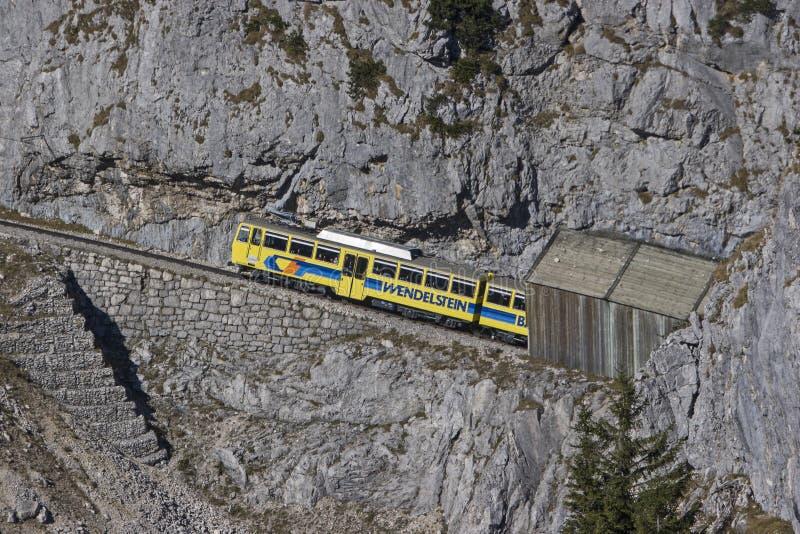 Wendelstein railway royalty free stock photo