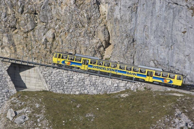 Wendelstein railway stock photography