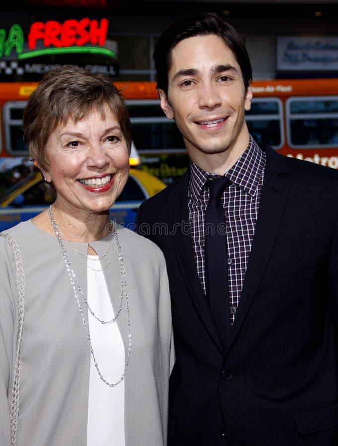Wendy Lesniak et Justin Long photos stock