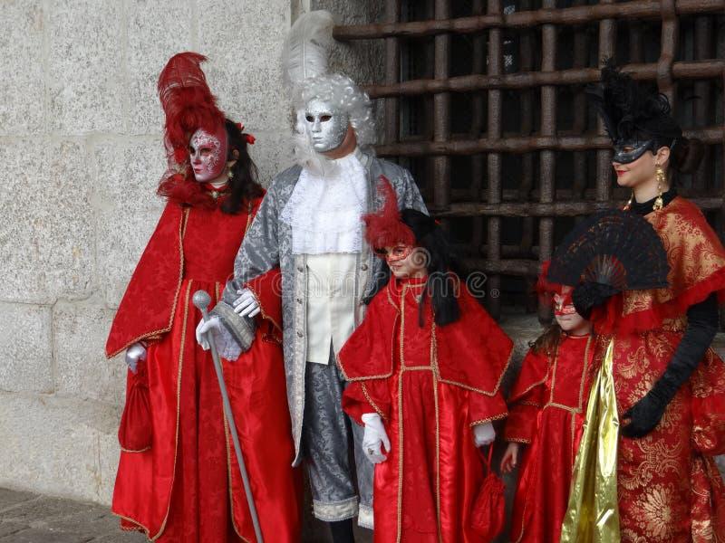 Wenecja karnawału kostium obrazy royalty free