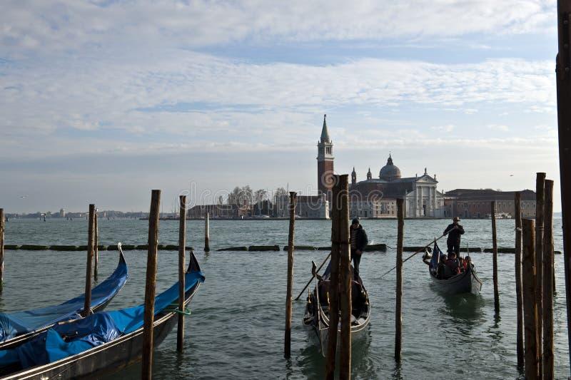 Wenecja miasta dnia widok obrazy stock