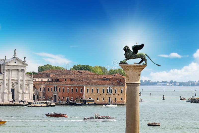 Wenecja miasto na słonecznych dniach obrazy royalty free