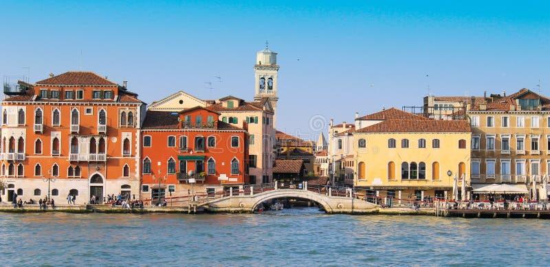 Wenecja miasto w słonecznym dniu fotografia royalty free