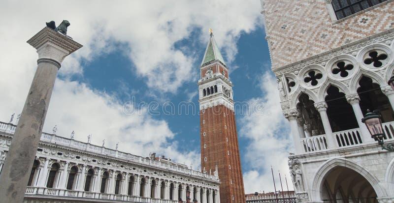 Wenecja panorama, Włochy, środkowy Europa fotografia royalty free