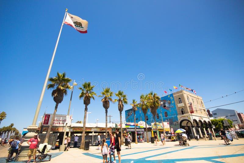 Wenecja Plażowy Kalifornia obraz royalty free