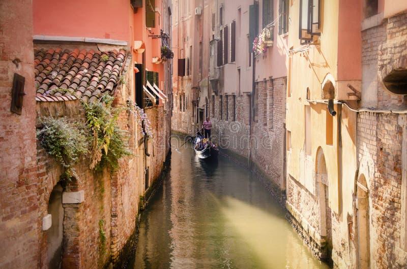 Wenecja pokojowa przejażdżka obrazy royalty free