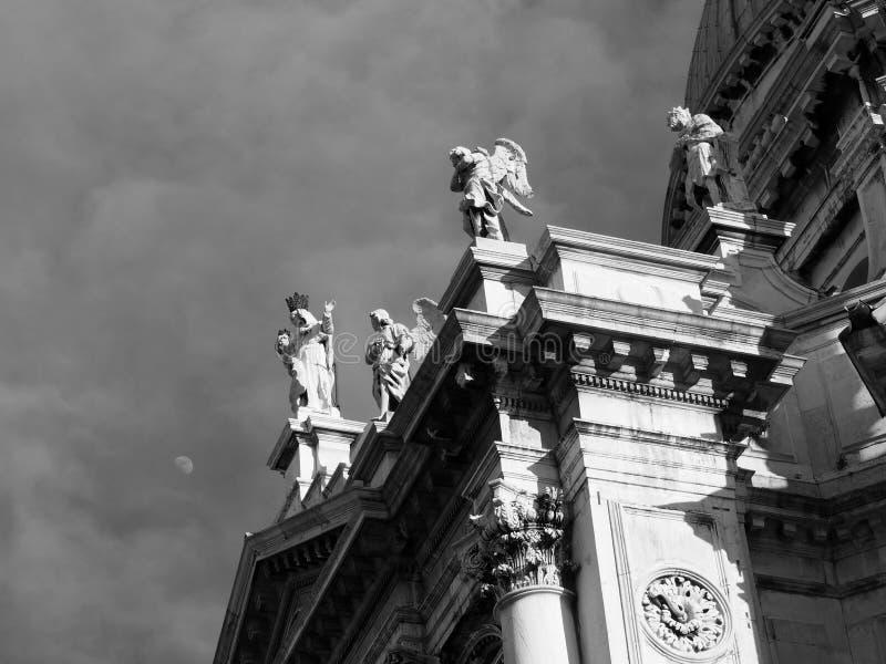 Wenecja Santa Maria della salut fotografia royalty free