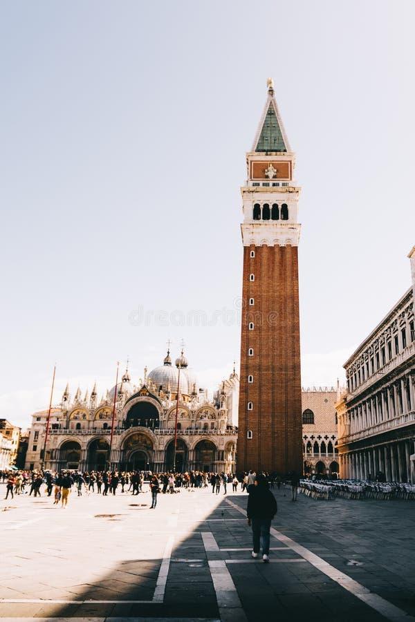 Wenecja St Mark ` s kwadrat zdjęcie stock