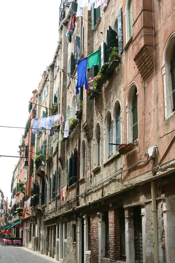 Wenecja, ulica zdjęcie royalty free