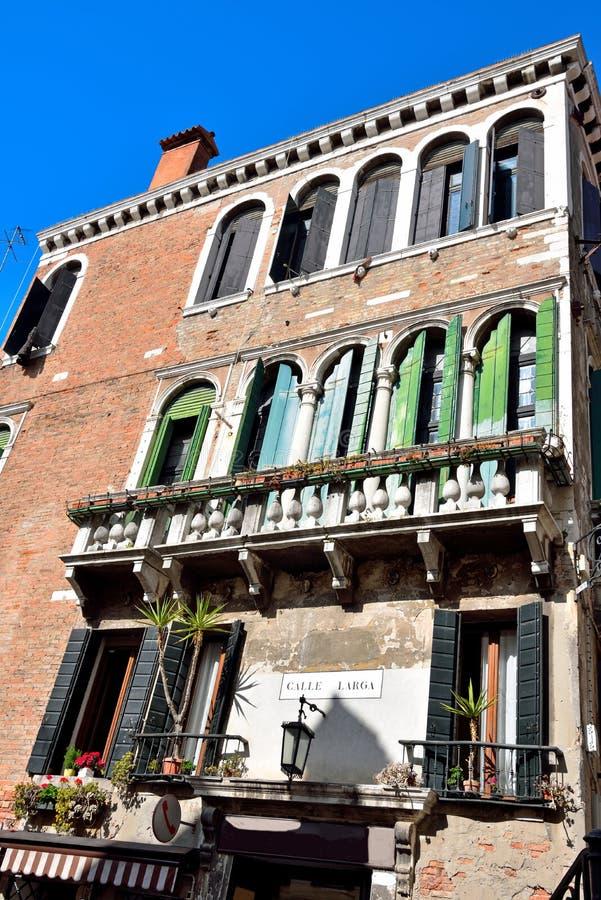 Wenecja Venezia W?ochy fotografia royalty free