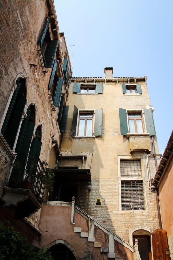Wenecja Włochy architektura obraz royalty free