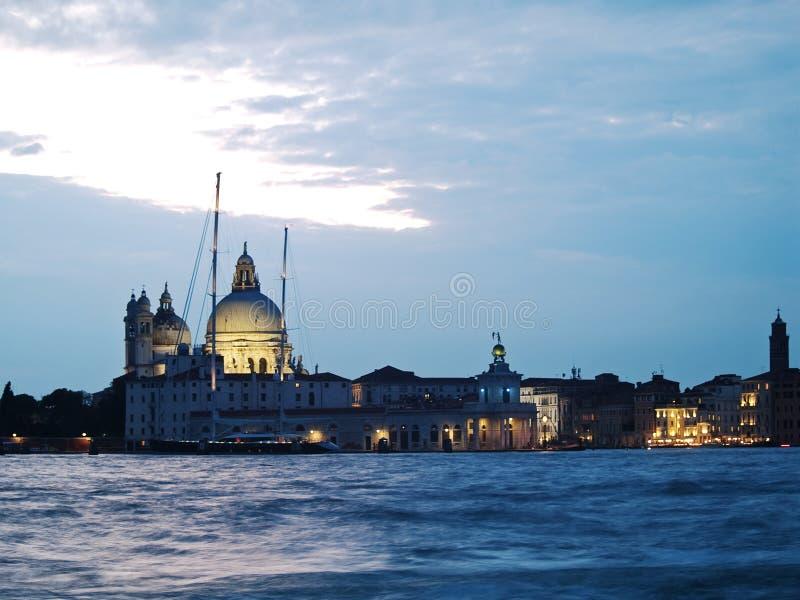 Wenecja: zmierzch zdjęcie stock