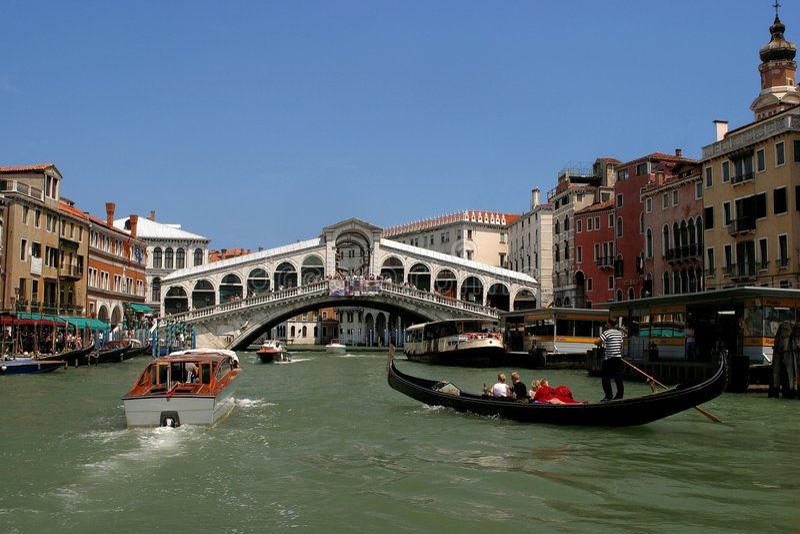 Wenecji Zdjęcie Royalty Free