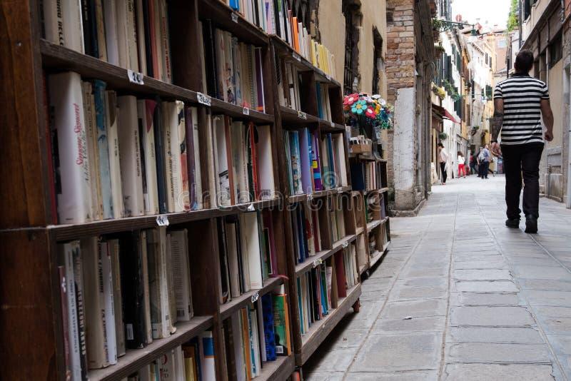 Wenecka otwarta biblioteka fotografia stock