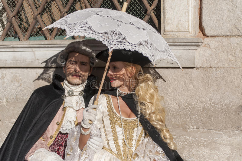Wenecki carnival-2013 zdjęcia royalty free