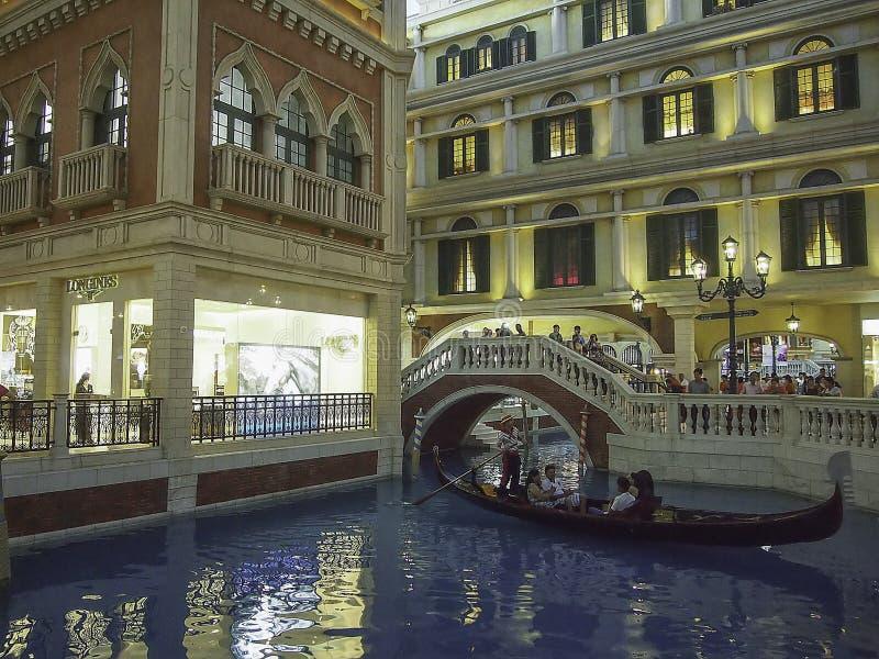 Wenecki Macao hotel w kurorcie, Macao obraz stock