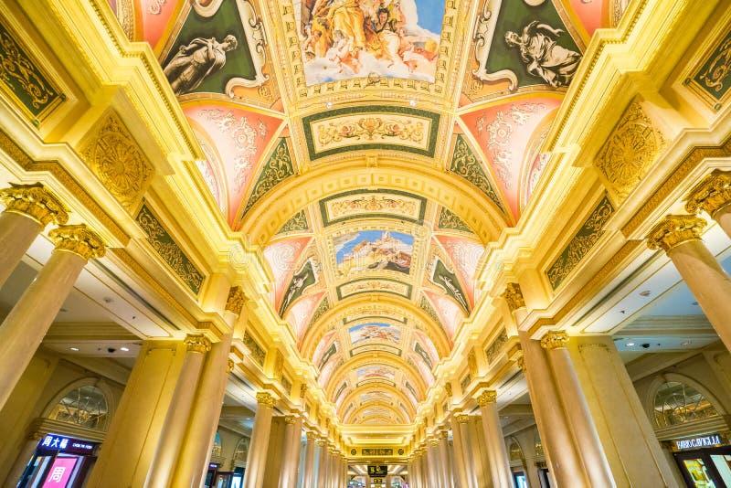 Wenecki Macau w Macau, Chiny zdjęcia stock