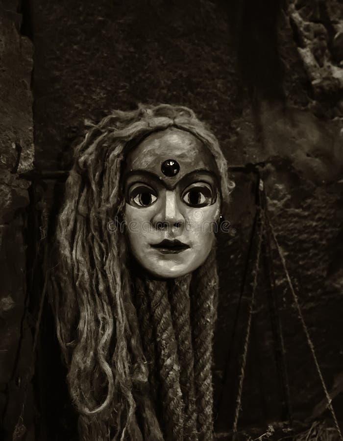Wenecki maskowy strach zdjęcia royalty free