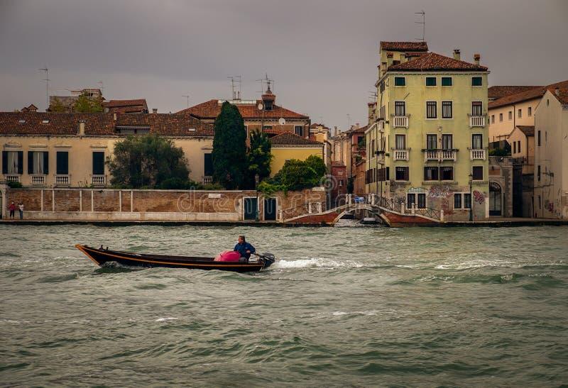 Wenecki transport Włochy zdjęcie royalty free